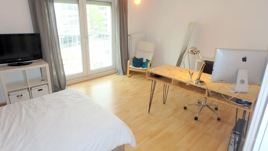Great Guest Room in the Heart of Frankfurt