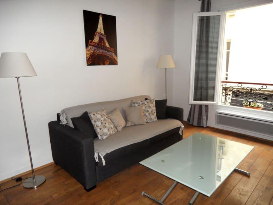 Paris mon case appartements louer paris le de - Interieur appartement original et ultra moderne a paris ...