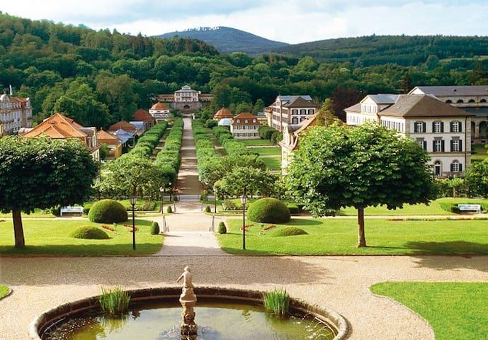 Schöne Ferienwohnung am Schlosspark - Bad Brückenau - Huoneisto