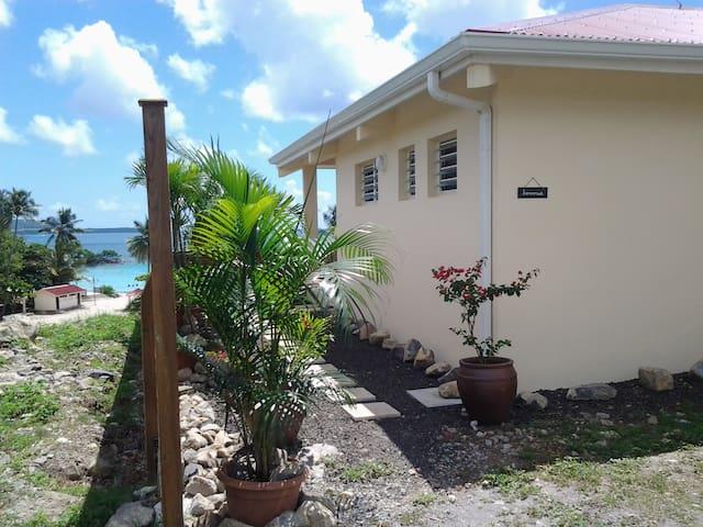 Villa en bord de plage Anse Figuier - Rivière-Pilote - Huis