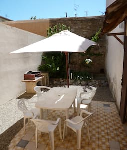 Appartement avec patio jardin privé