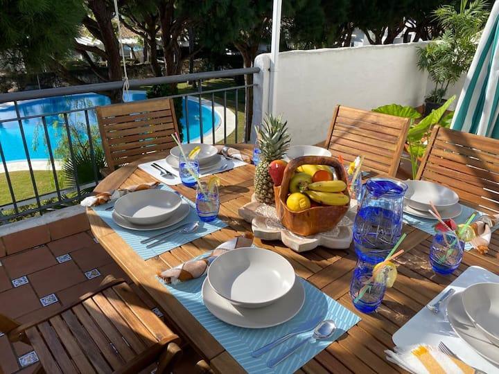 """Apartamento """"Estrella Marina """" en playa La Barrosa"""