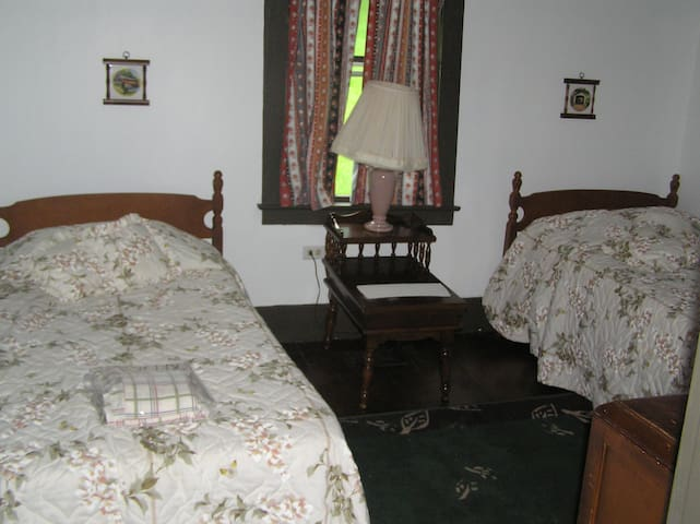 Bedroom #2 - two single beds