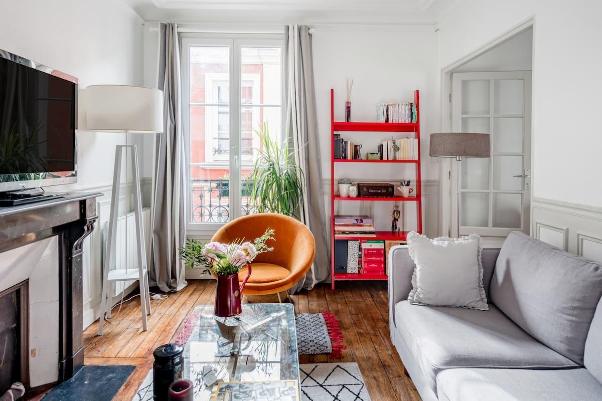 Pied-à-terre cosy à Paris