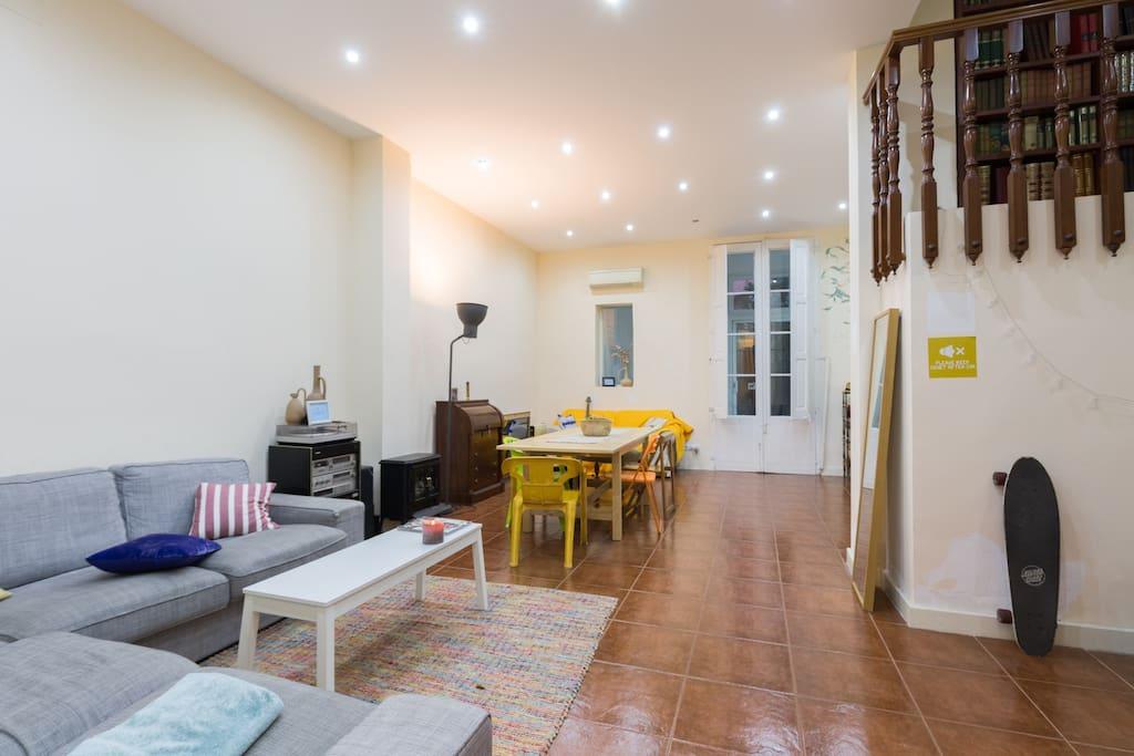 Amazing double room in gracia case in affitto a - Riscaldamento alternativo in casa in affitto ...