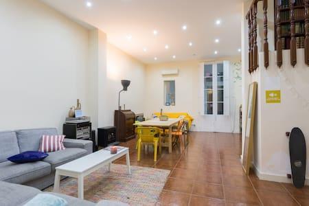 Amazing double room in Gracia - Barcelona
