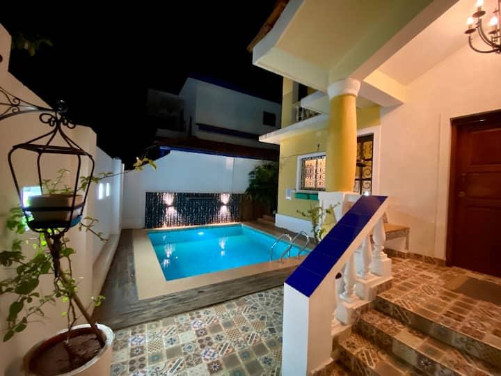 EKOSTAY |Tastefully Done 4BHK Villa w Private Pool