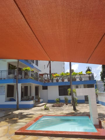 Nyali beach,Mombasa.Entire 3 beds rooms apartment