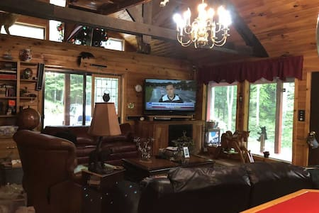 Cross Fork Pine Lodge Bear's Den3 br luxury cabin