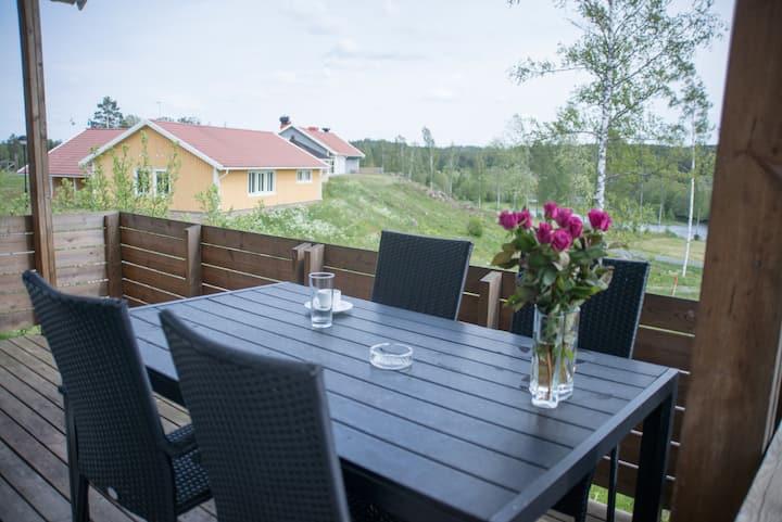 Beautiful cottage with  astonishing lake view