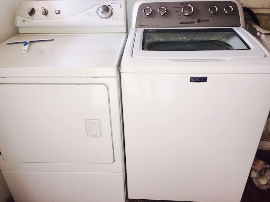 Adjacent laundry room share with owner