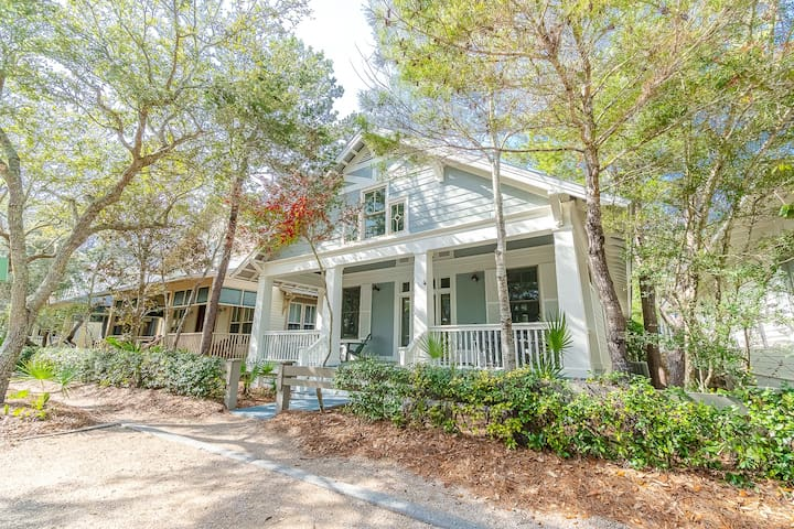 The Seacret of Life - Park District WaterColor Home, Close to 30A Steps to Beach Club!