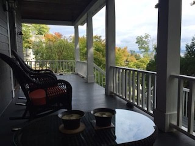 Cozy private apartment with Hudson River views - Piermont - Byt