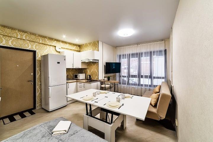 Premium studio apartment in the center of Kazan