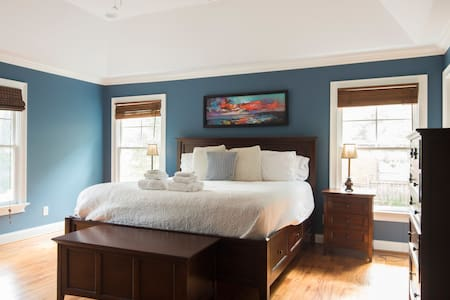 Gorgeous Southend Master Bedroom - Charlotte - Casa