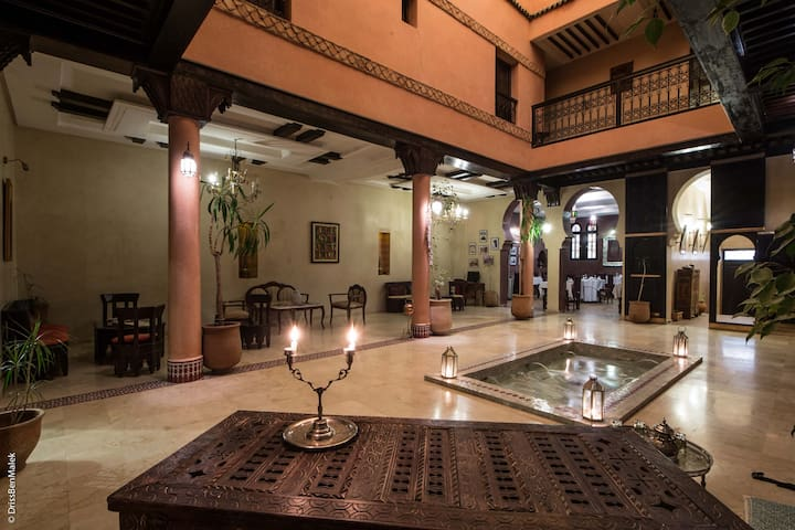 RIAD YACOUT  QUARTIER HISTORIQUE  - Meknes - Bed & Breakfast