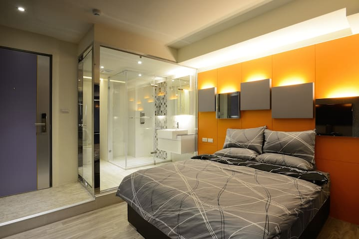 Standard Double Bed Private ~  Breakfast includ - 前鎮區 - Apartment