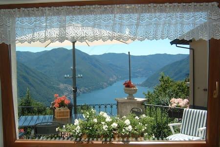 B&B La Finestra Sul Lago- Como-Pigra
