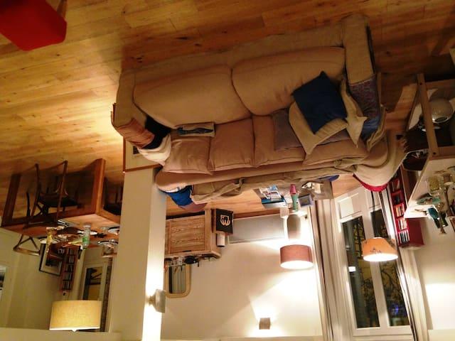 120 M², 6 p 10 mn Disneyland paris - Lagny-sur-Marne - Apartament