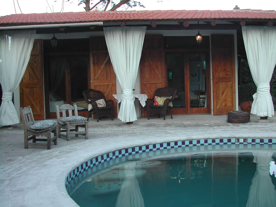 Private cottage with pool