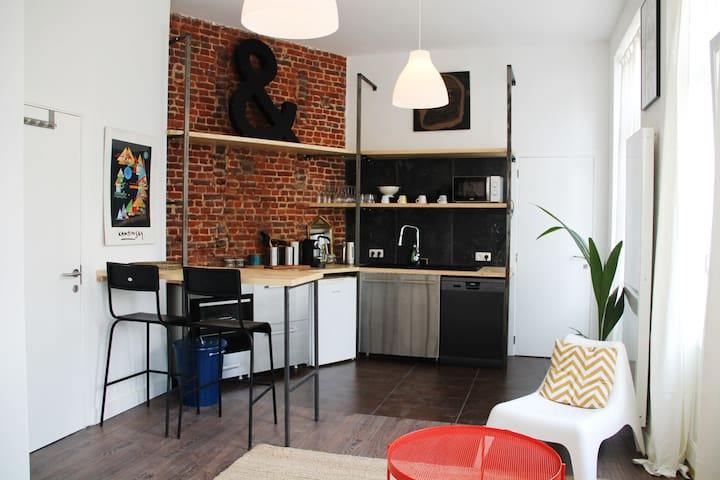 Stylish and comfy apartment in the heart of BXL