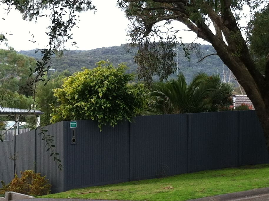 Front yard view to Arthur's Seat