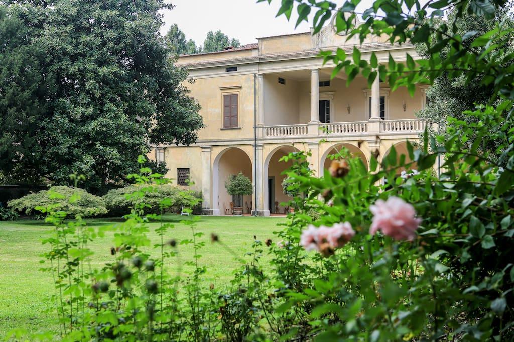 Villa Longo from the garden