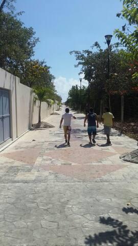 Departamento azul para 2 personas - Playa del Carmen - Apartment