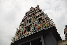Sri Mariamman Temple, 3-Min Walk From Our Hostel