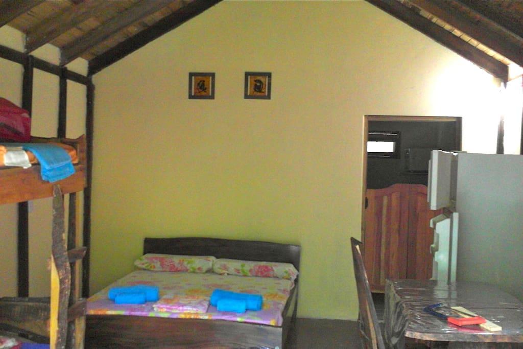 Varias habitaciones con monoambiente