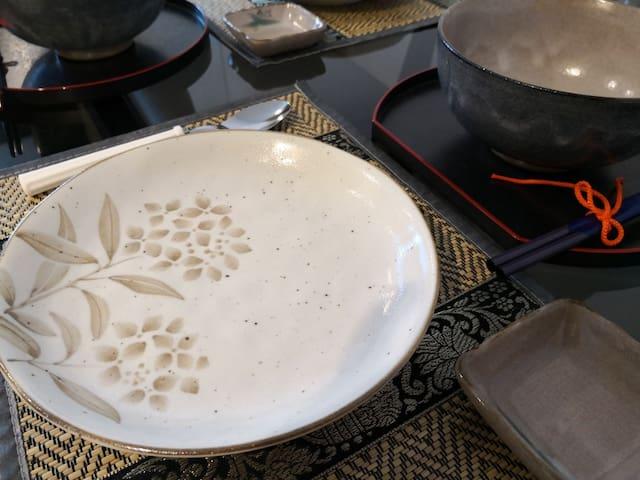 Quality Japanese designer plates