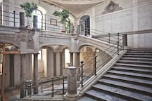 monumental marble staircase