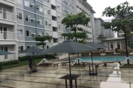 Pool side condo unit - Quezon city