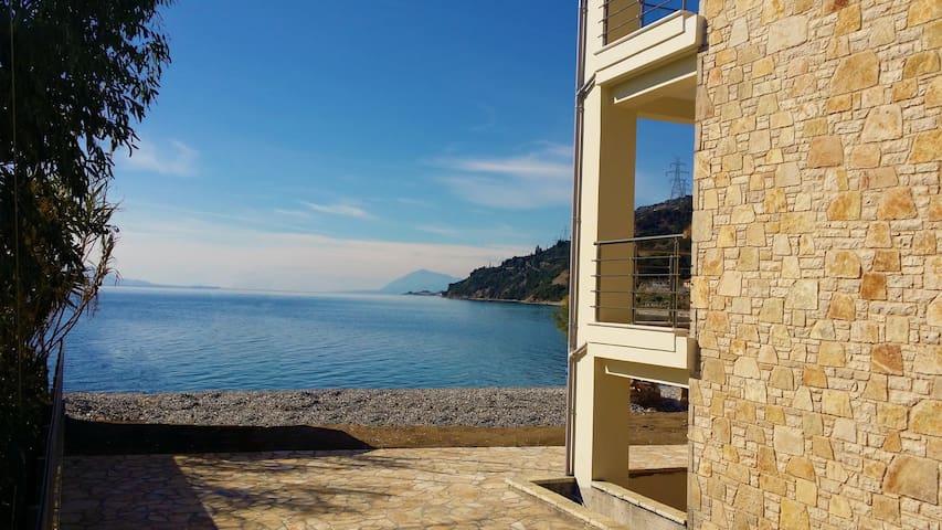 Villa Thalassa - Luxury by the Sea - House 1 - Sergoula Beach - Villa
