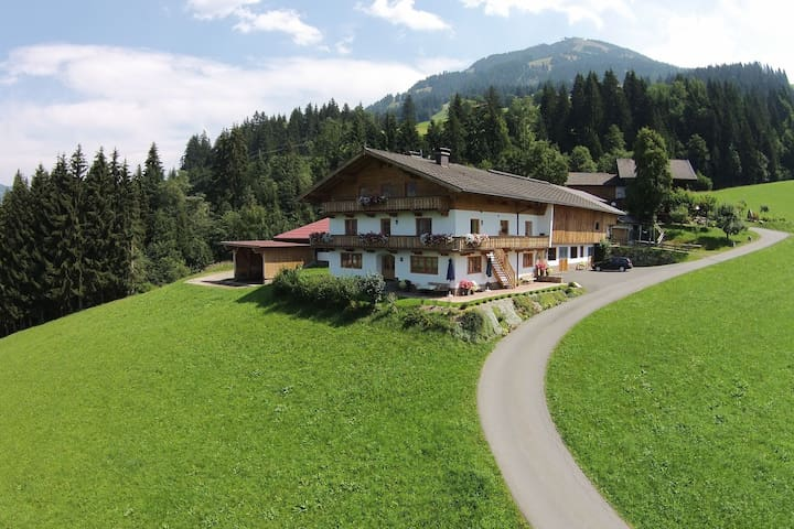 Espacioso apartamento cerca de la zona de esquí en Westendorf