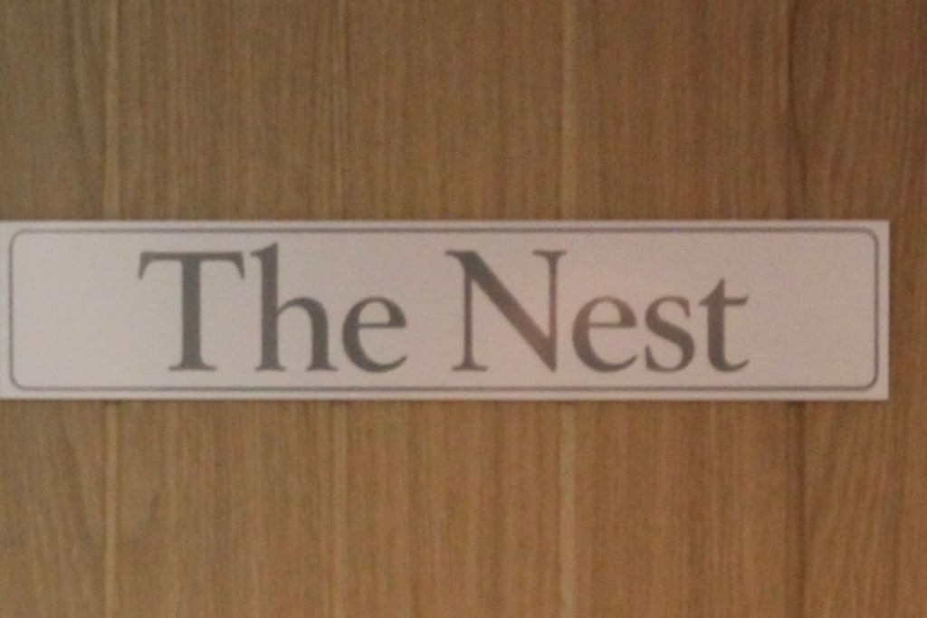 The Nest is a quiet and cosy double room.