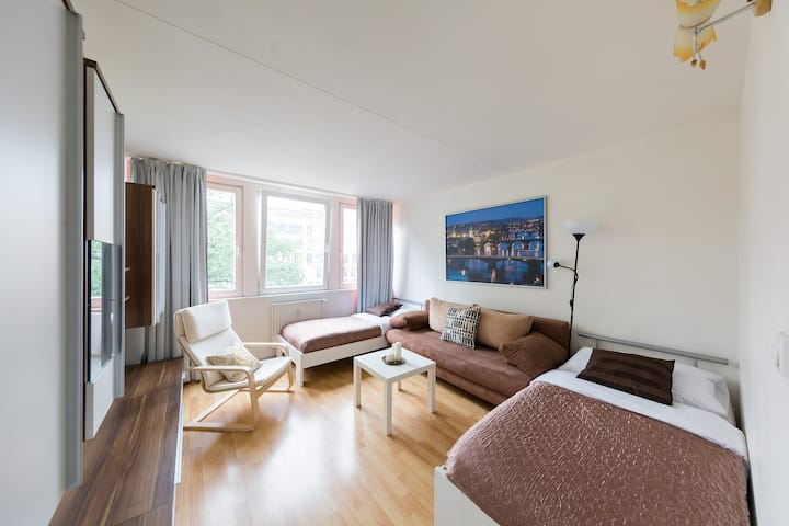 EXPO 2 separate bedrooms with great rooftop