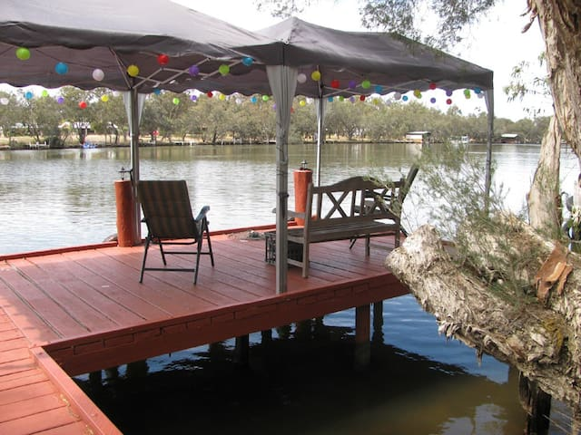 Lovely Aussie riverfront cottage - South Yunderup - Casa