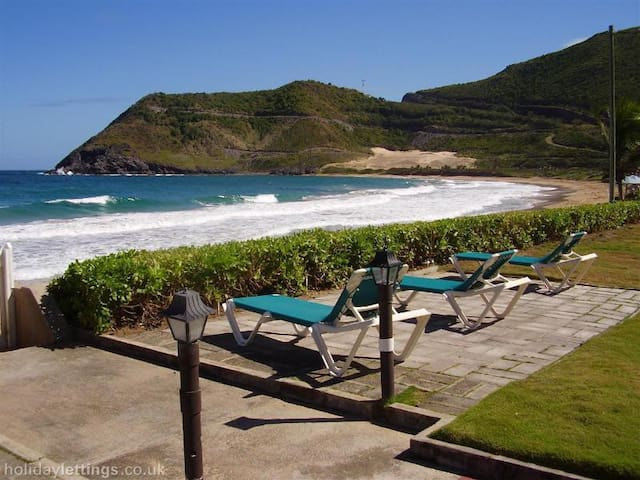 Paradise On The Beach - Frigate Bay - Apartment