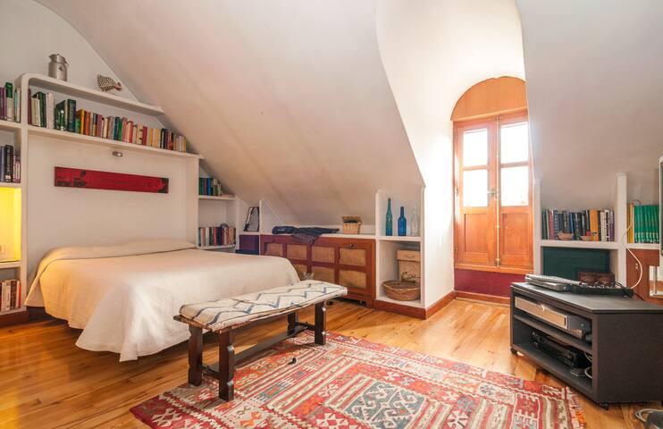 Pza Mayor Double room in share flat - Madrid - Bed & Breakfast