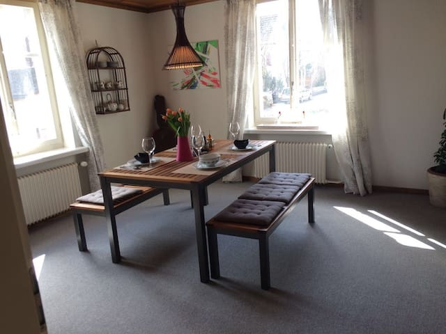 central,quiet location,networked PT - Weinfelden - Apartamento