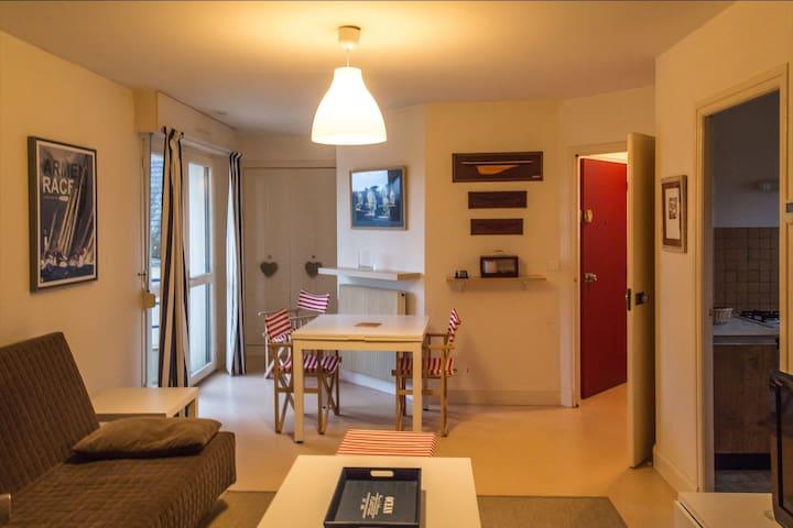 T2 face ile Tristan résidence de La Pointe - Douarnenez - Wohnung