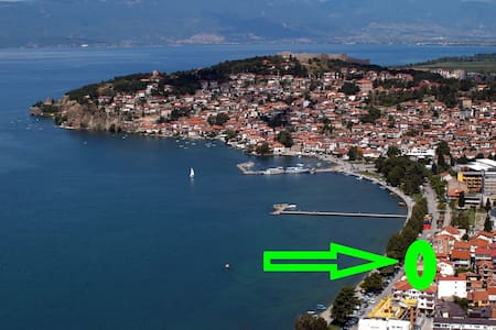 VILLA TOMIC apartment 2 (2 people) - Ohrid