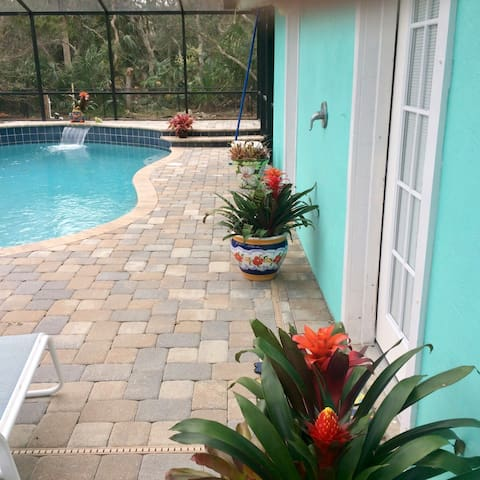 Cute Pool House - Flagler Beach - Appartement