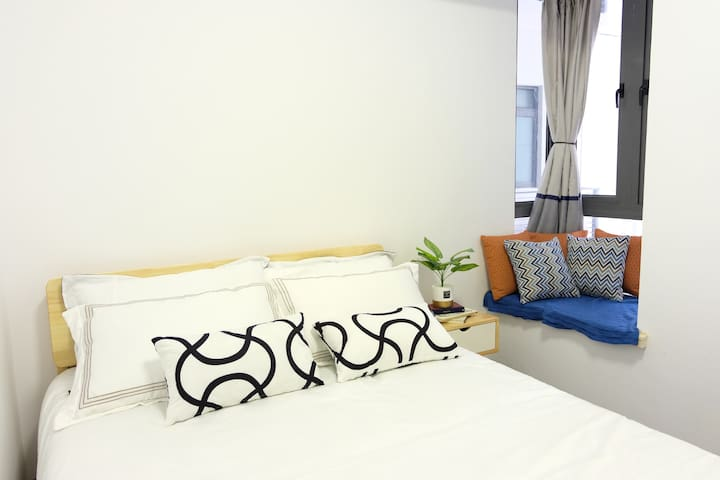 【LiiTao】Cozy 1-bedroom unit 简约舒适一房式公寓 / near CIQ