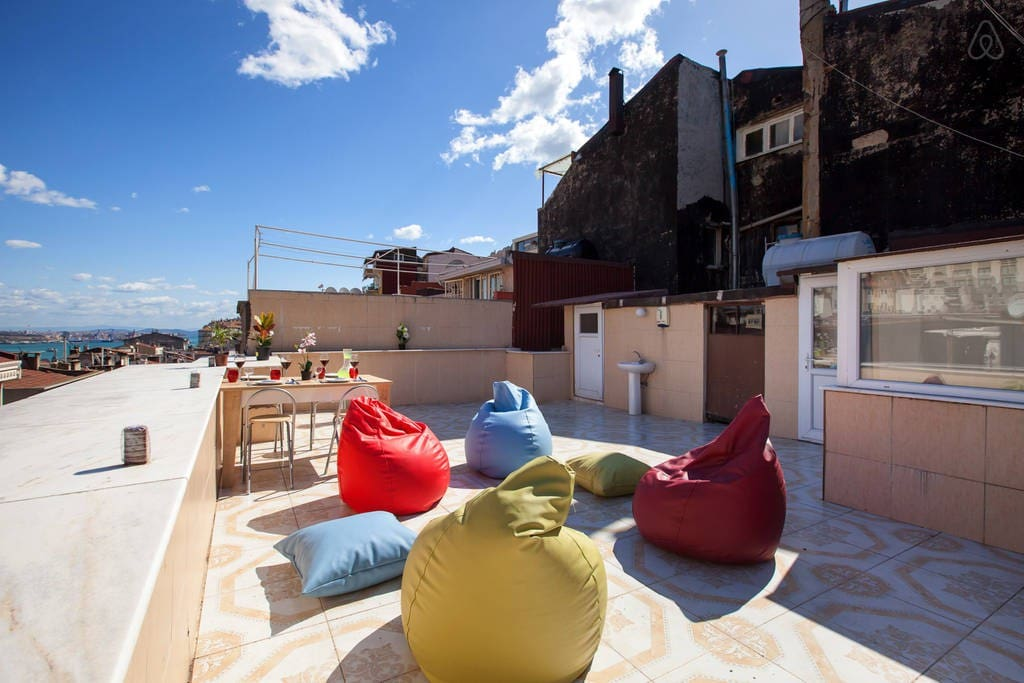 Private Terrace with additounal relax  seat