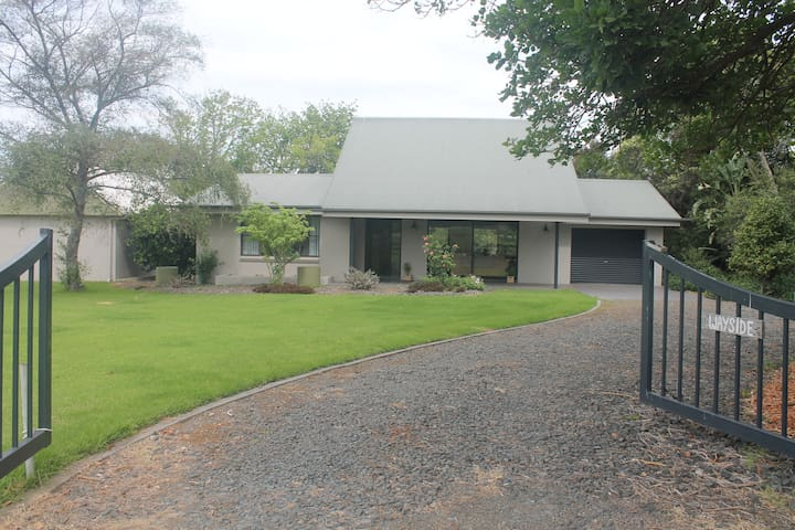 Detached house on 5 acres, 3kms from Berry