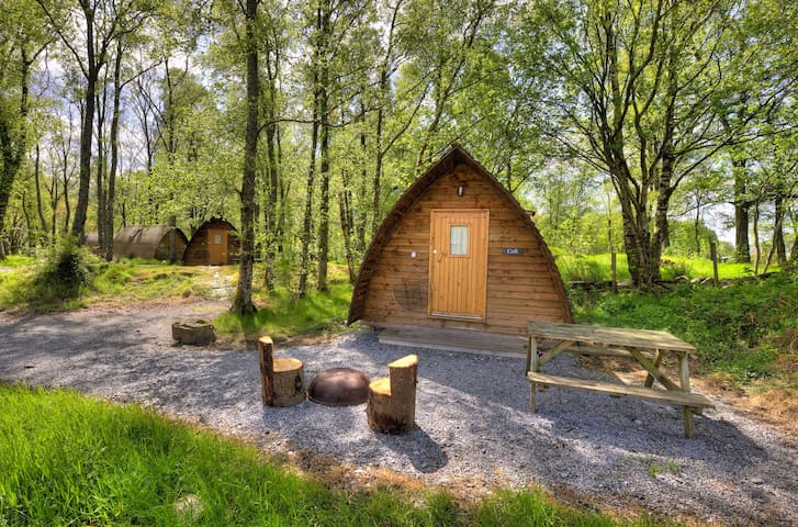 Mull - Standard Wigwam - Shared Bathroom Facilities - Guests bring their own Towels and Bedding.