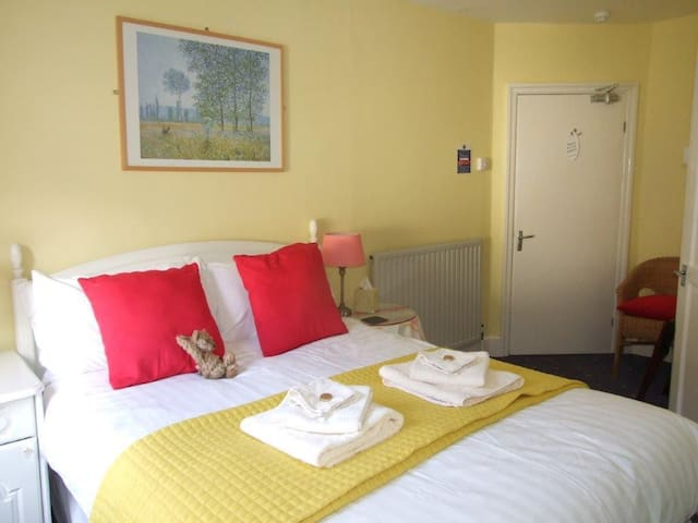 Double ensuite room, located on the second floor