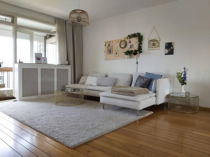 Licht appartement bij Centrum Den Bosch, max 4p